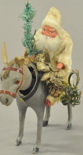 Santa On Nodding Donkey