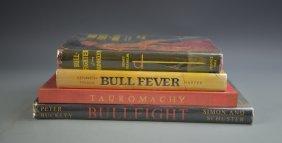 Four Books On Bull Fighting