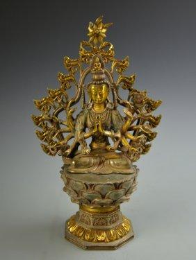 Chinese Metal Buddha