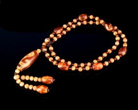 Chinese Eye Bead Necklace