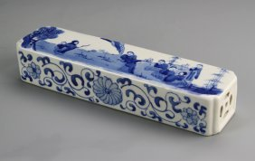 Chinese Blue And White Paper Weight
