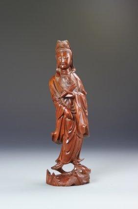 Chinese Boxwood Guanyin