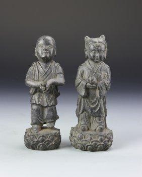 Chinese Bronze Figures