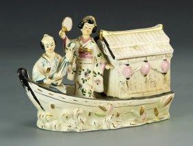 Japanese Porcelain Boat