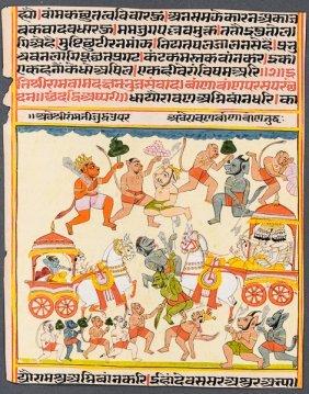 Battle Against The Army Of Ravana