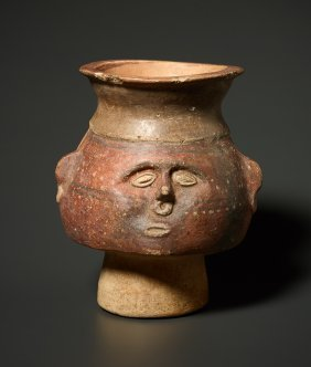 Vessel With Human Face