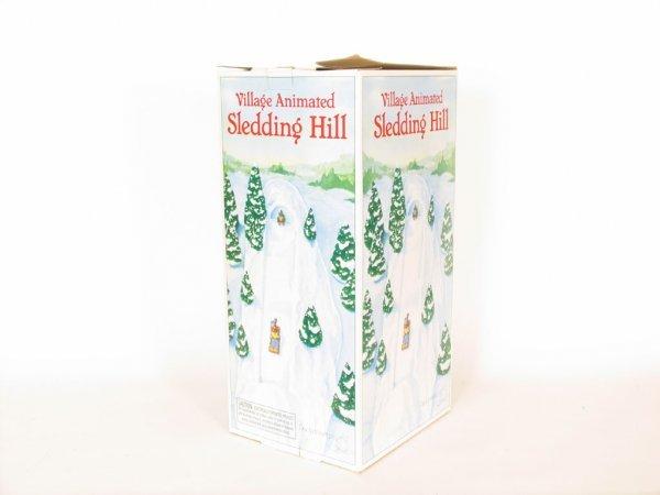 1203: Dept. 56 Animated Village Sledding Hill : Lot 1203  1203: Dept. 56 ...