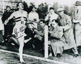 Roger Bannister Signed Photo.