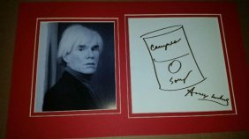 Andy Warhol Drawing.