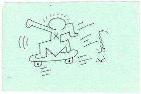Keith Haring: Skateboard Kid.