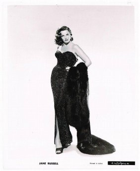 Jane Russell Original 1956:the Revolt Of Mamie Stover.