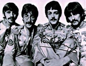 The Beatles Sgt Pepper - Paul Mccartney Signed Photo.