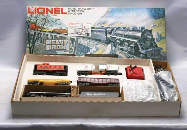Toys R Us Trains : Lionel train set toys r us heavy iron freigh