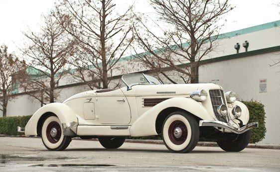 147 1935 Auburn 851 Sc Boattail Speedster Lot 147