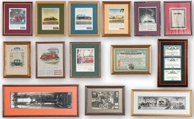 Vintage Share Certificates, Ads And Photos