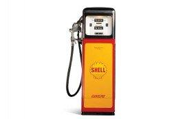 Shell Computing Gas Pump