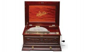 Stella 17.25-Inch Disc Music Box