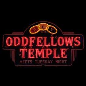 2058-Oddfellows Temple Neon