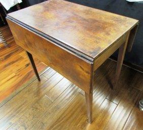 Pembroke Table Wood Antique Drop Leaf