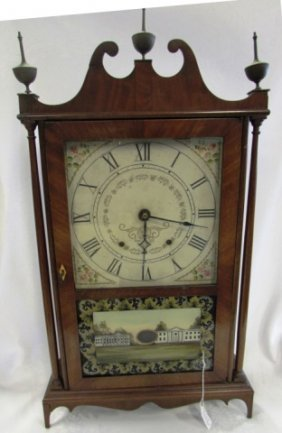 Seth Thomas Pillar And Scroll Mantle Clock