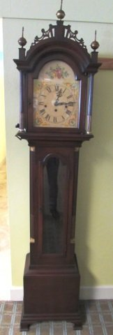 Colonial Grand Father Clock 7' Westminster Chime