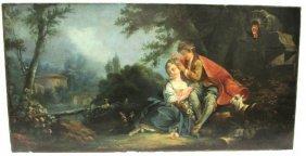 Jean-honoré Fragonard French Oil Canvas
