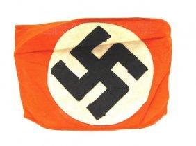 Nazi Armband Political Leader Candidate Swastika