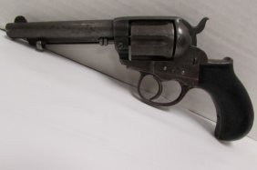 Colt 1877 Lightning D A 38 Revolver Handgun