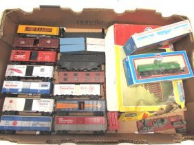 Toy Train Lot Model Power Carnation Pacemaker