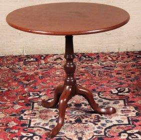 Georgian Mahogany Tripod Tilt Table