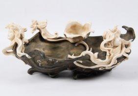 Art Noveau Porcelain Centerpiece