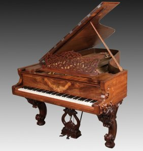 "Steinway & Sons 7'2"" Grand Piano"