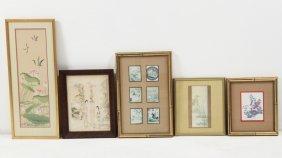 6 Piece Miscellaneous Lot Of Framed Art