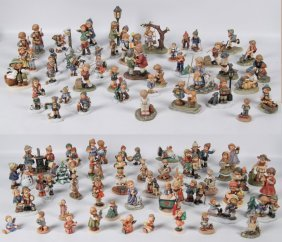 Collection Of 94 Hummel Goebel Porcelain Figurines