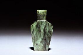 Nephrite Jade Snuff Bottle