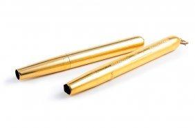 Pair Of Cartier Gold Pencils