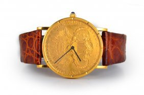 Corum Gold Twenty-dollar Men's Watch