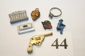 Gun, Ring, Charms