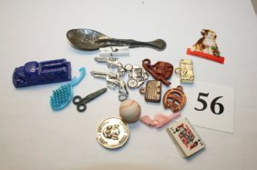 16 Items: Guns, Charms, Radio
