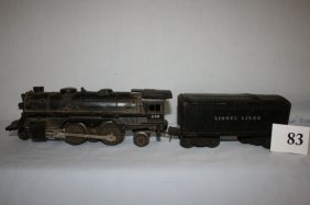 Lionel 246 With Tin Tender 1654 T