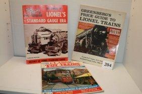 3 Train Magazines, 1964, 1990, 1977