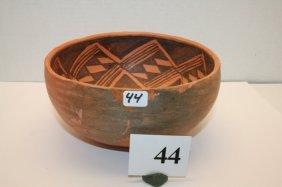 Anasazi Black On Red Bowl