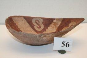 Melon Shaped Pottery Bowl
