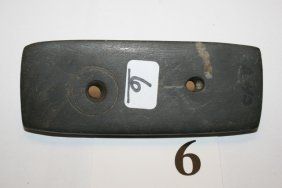 Engraved Banded Slate Gorget