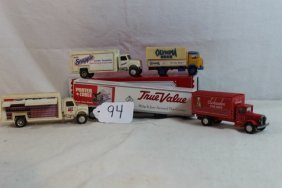 Box Lot Of Trucks