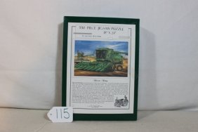 John Deere Puzzle Harvester Heritage