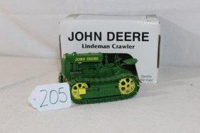 John Deere Lindeman Crawler