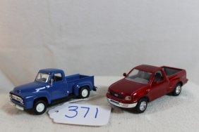 2 Ford Trucks 1953 & 1998