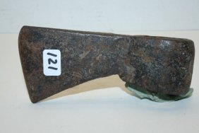 Hand Forged Iron Squaw Axe