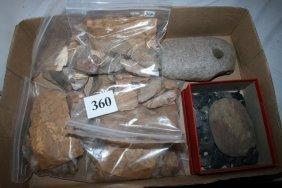 Group Of Arkansas Artifacts